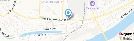Джус Бар на карте Астрахани