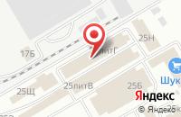 Схема проезда до компании АНГАРА в Астрахани