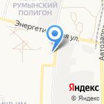 Пивохлёб на карте Астрахани