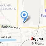 Каспий на карте Астрахани