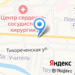 Ольга на карте Астрахани