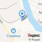 АкВаЛэнд на карте Астрахани