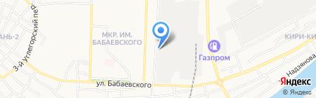 Астраханьгазстрой на карте Астрахани