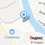 Магазин линолеума и светотехники на карте Астрахани