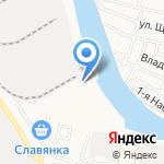 Александрия на карте Астрахани
