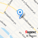 Алгоритм на карте Астрахани