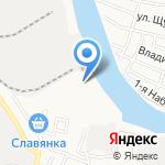 Магазин линолеума на карте Астрахани