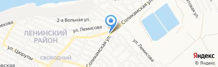 АЗС на карте Астрахани