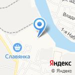 Юг-комфорт на карте Астрахани