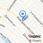 Авангард на карте Астрахани