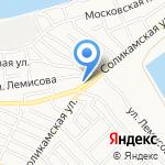 Алена на карте Астрахани