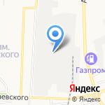 Родич на карте Астрахани