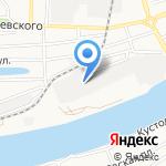Евробетон на карте Астрахани