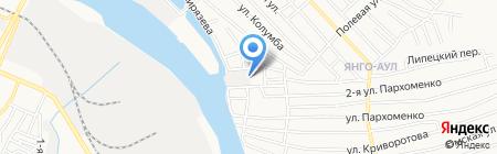 Галактика-Инжиниринг на карте Астрахани