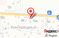 Схема проезда до компании Сантех-Сити в Астрахани