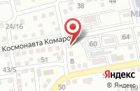 Схема проезда до компании Office Print в Астрахани