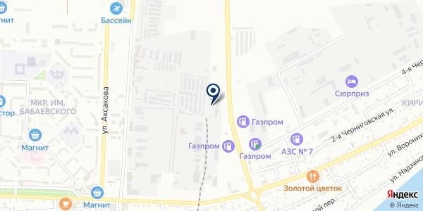 Металл ГОСТ строЙ на карте Астрахани
