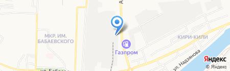 МеталлГОСТСтрой на карте Астрахани