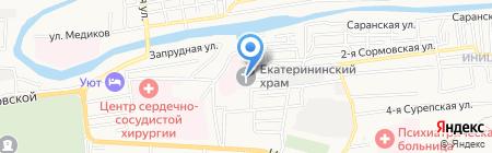 Часовня на Еричной на карте Астрахани