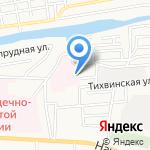 Часовня на карте Астрахани
