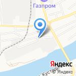 На Сенной на карте Астрахани