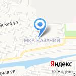 Средняя общеобразовательная школа №66 на карте Астрахани
