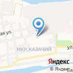 Астраханский государственный колледж профессиональных технологий на карте Астрахани