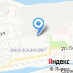 Просто-школа на карте Астрахани