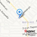 Детский сад №45 на карте Астрахани