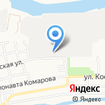 Аск-Пласт на карте Астрахани