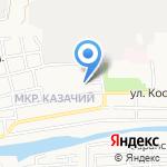 Колибри на карте Астрахани