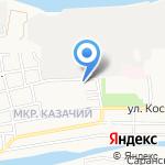 ВИТО на карте Астрахани