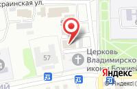 Схема проезда до компании Легион в Астрахани