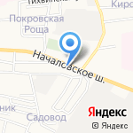 СБ авто на карте Астрахани