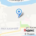 Астрахань-Фарм на карте Астрахани