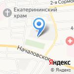 Пожарная часть №3 на карте Астрахани