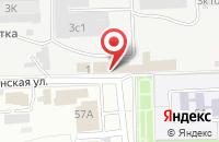 Схема проезда до компании Астраханская судоверфь в Астрахани