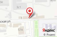 Схема проезда до компании Каспий-Авто в Астрахани