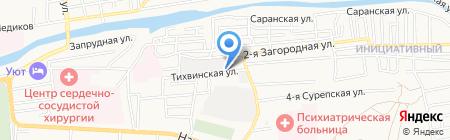 Электротехническая компания на карте Астрахани