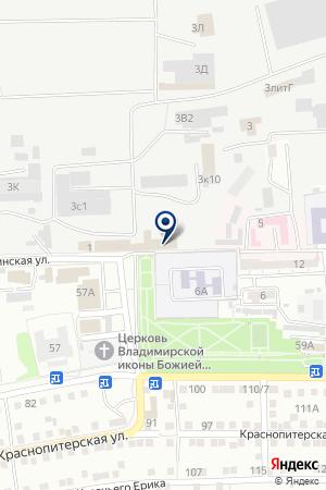 ГЕФЕСТ-УНИВЕРСАЛ ПКФ на карте Астрахани