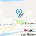 Детский сад №19 на карте Астрахани