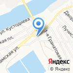 Цитадель на карте Астрахани