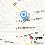 Питер на карте Астрахани
