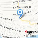 Голден Холл на карте Астрахани