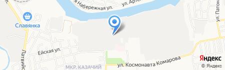 ДельтаСтройСервис на карте Астрахани