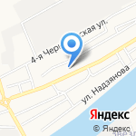 Колокольчик на карте Астрахани