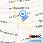 Средняя общеобразовательная школа №71 на карте Астрахани