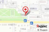 Схема проезда до компании Дюбель.ru в Астрахани