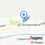 Дюбель.ru на карте Астрахани