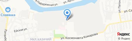 Контакт-КМ на карте Астрахани